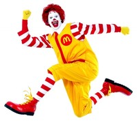 gay blow job pictures upload ronald mcdonald jumping mcdonalds employee told hes too gay drag queen