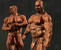 gay bodybuilder photos peitro hank page