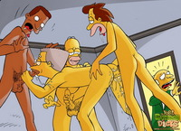 gay cartoon comic porn media simpsons porn comics