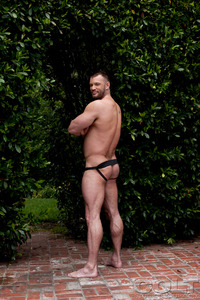 gay colt porn aaron cage gay hardcore porn star muscle bear hairy huge pecs bottom ass jockstrap colt studio group gruff stuff brenden fucking sucking masculine woof alert