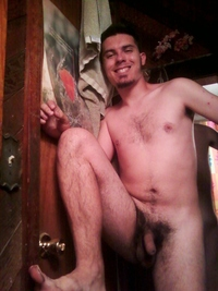 gay dude nude bushy trashy hunk