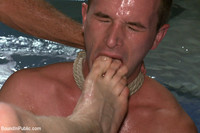 gay foot sex bound public suck cock lick feet