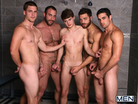 gay gang bang porn media spencer reed porn