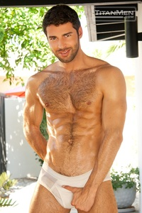 gay hairy hunks pics dario beck landon conrad titan men gay porn stars rough older anal muscle hairy guys muscled hunks gallery video photo