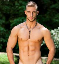 gay hunks naked naked gay twink hunk outdoors shirtless defined abs pecs chest pubes prepared