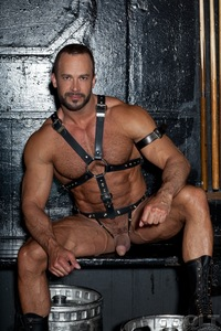 gay leather porn nate karlton tops samuel colt muscles leather