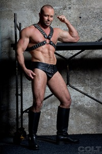 gay leather porn casey williams john magnum muscle leather