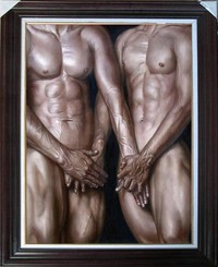 gay male nude pics imgdata webimg itm original oil painting art gay male nude canvas