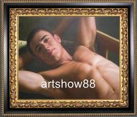gay male nude pics imgdata webimg itm original oil painting art young gay male nude canvas