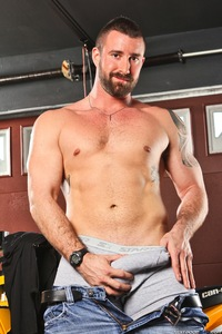 gay male porn images vinny castillo next door male beard stroking his cock gay porn would