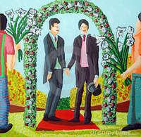 gay men free pic gay men get married homosexual wedding royalty free stock photo