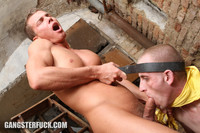 gay men hardcore sex looser rough male hardcore where wild master screws his slave