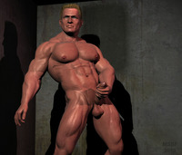gay muscle bodybuilder mantrap mark page