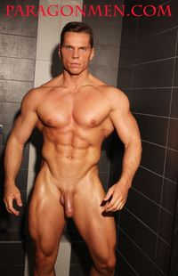 gay muscle bodybuilder russian bodybuilder gay porn muscle hunk jasper van dean aka vasily shepelin jacks off his uncut cock paragon men group message