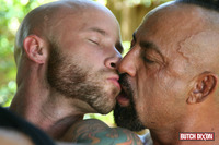gay muscles porn butch dixon bangor drake jaden barebacking daddy muscle tatted stud amateur gay porn fucks his younger neighbor outside