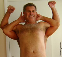 gay naked dudes very hot hunky hairychest shoulders muscledaddie