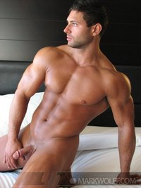 gay nude bodybuilders hard beefy bodybuilder mike buffalari gets naked strokes off his dick mark wolff pic bodybuilding