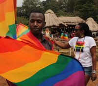gay pictures eec second annual gay pride parade held uganda