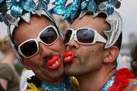 gay pictures gay parade french senate adopts marriage law