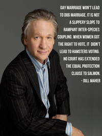 gay pictures bill maher gay marriage cultural correspondent ten great thoughts
