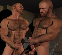 gay porn bodybuilders zander dallas