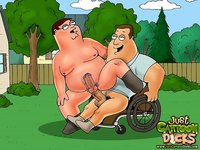gay porn cartoon Pic cartoon dicks family guy