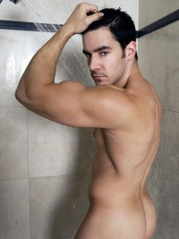 gay porn chris rockway sexy chris rockway gets out shower
