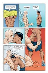 gay porn comics chaz body workout page