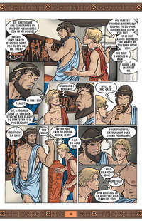 gay porn comics ian hanks aegean tales willing ward page
