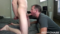 gay porn daddy Pics seth chase daddy taking bareback load from younger guy his ass kyle amateur gay porn category anal creampie