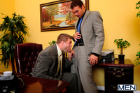 gay porn galleries pictures gallery touchy boss colby jansen rocco reed gay office photo brett carter