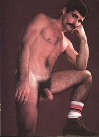 gay porn star photos joe porcelli colt studio group gay porn star noel kemp friends pornstache beard facial hair muscular body thick cock hairy