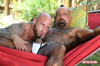 gay porn with daddy butch dixon bangor drake jaden barebacking daddy muscle tatted stud amateur gay porn fucks his younger neighbor outside