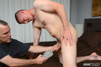 gay straight porn Pic spunkworthy eli straight marine gets hand fleshlight from guy amateur gay porn his another
