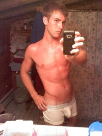 gay underwear porn boy white underwear taking self pictures