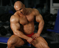giant muscle men manuel giant muscles bodybuilder bauer