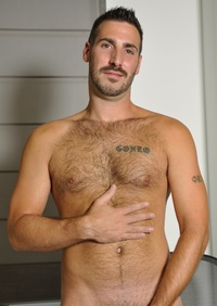 hairy gay male porn Pictures eric guy hairy chest beard stache facial hair masculine hard cock sexy confident posing flexing armpits stroking solo gay porn men real hung bears