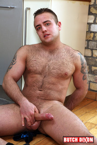 hairy gay man sex butch dixon billy essex hairy cub uncut cock jerking off amateur gay porn