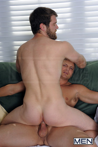 hairy gay men porn colby keller brenden cage sauna watch out that white stuff floor its slippery