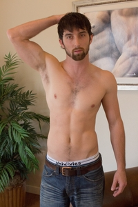 hairy hunks gay porn hairy chest hunk jeremy stone jerks his cock southern strokes photo category