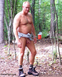 hairy naked muscle men plog hairychest musclebears very furry daddies fuzzy studly manly men hairy musclemen silverdaddies muscular athletic naked man walking woods hikers trail handsome