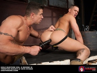 hot gay fuck porn dungeon amazing dildo fuck muscle gays