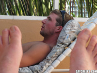 hot gay penis pics gay creeps handsome guy wakes rock hard cock his hot relaxed asshole