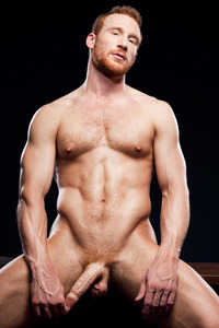 hot gay pics men love ginger prepuce
