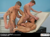 hot house gay porn evan mercy roderick edin sol malpractice caption this hot houses malpactrice