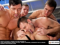 hot house gay porn marc dylan pack attack hot house gay porn gangbang bukkake group orgy manages make oral interesting