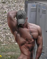 hot hunk muscle peter lindgren hot muscle burbujas deseo sexy hunk