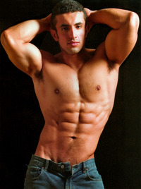 hot hunk muscle hottest topless men