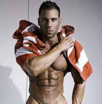 hot hunk muscle justin woods hot muscle rick day burbujas deseo sexy hunk photos