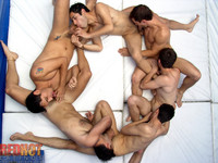 hot Latinos gay porn web mgc fcrhl red hot latinos man orgy